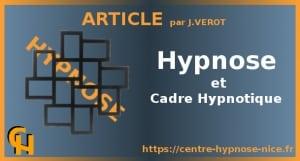 Hypnose et Cadre