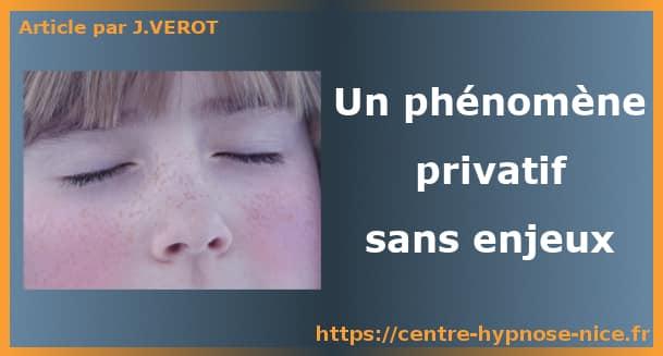 phénomène privatif sans enjeux